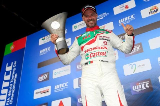 Tiago Monteiro continua com a Honda no WTCR em 2018
