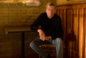Stephen King in North Carolina am Set von Under the Dome
