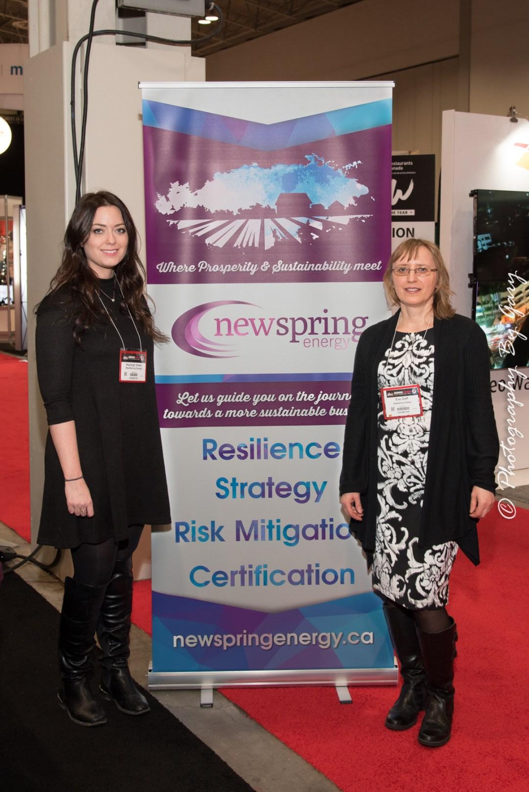 NSE team - Eva & Kayleigh
