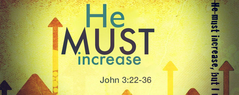 Image result for i must decrease he must increase