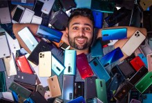 World's Biggest Smartphone Collection?