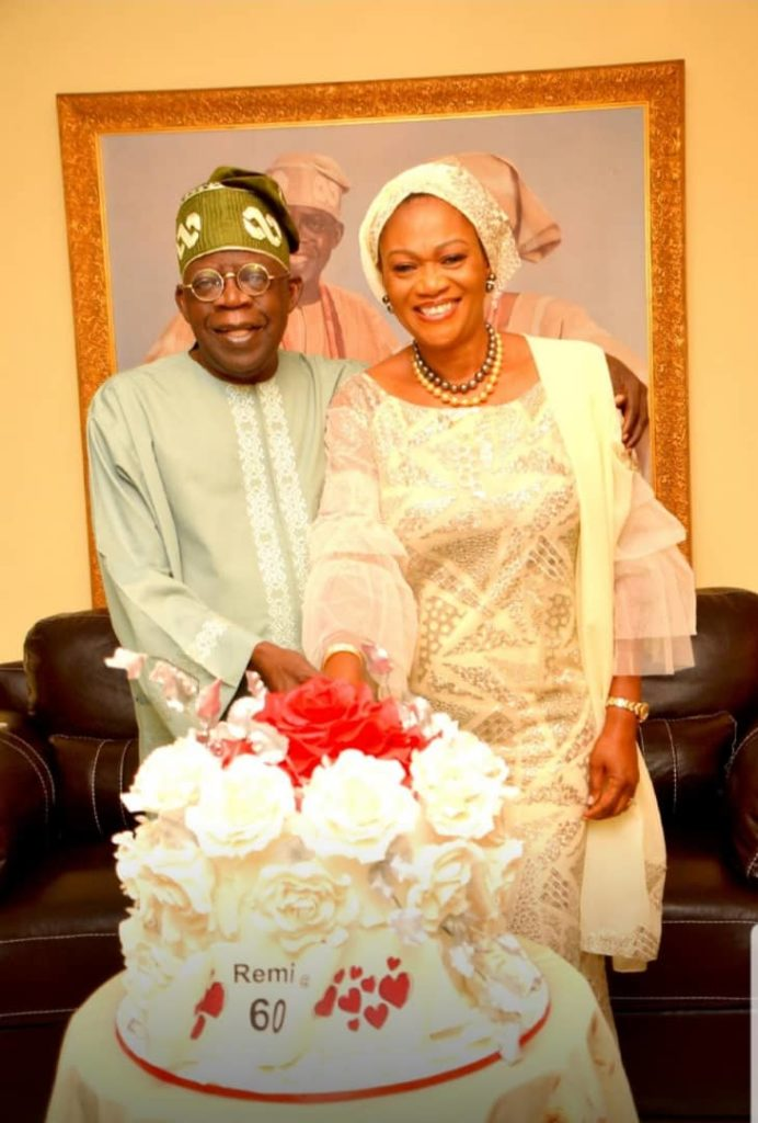 You Are A Greatest Friend, Ally, Supporter At Difficult Times - Tinubu Hails Wife At 60