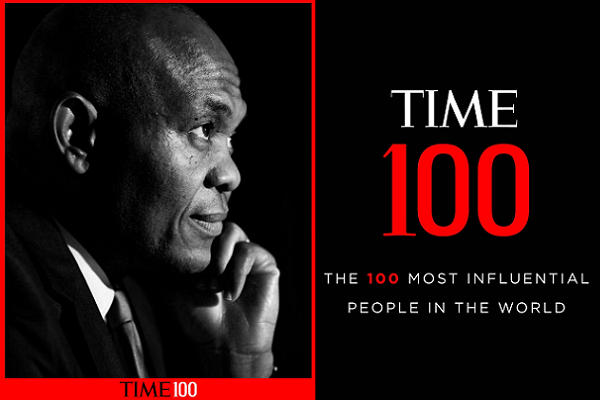 Tony Elumelu Emerged In 2020 TIME 100 World Most Influential People