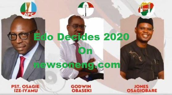 Latest Live Updates On Edo 2020 Election Today