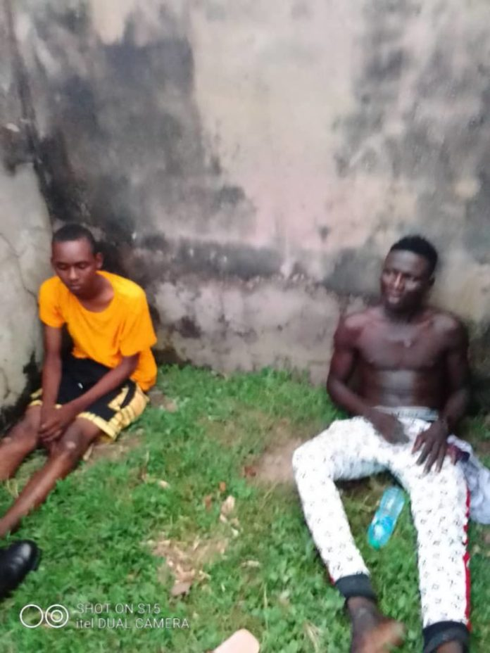 ENDSARS: Hoodlums Arrested With Knives In Abuja