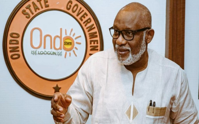 See What Ondo Traditional Rulers Said About Akeredolu's Re-Election