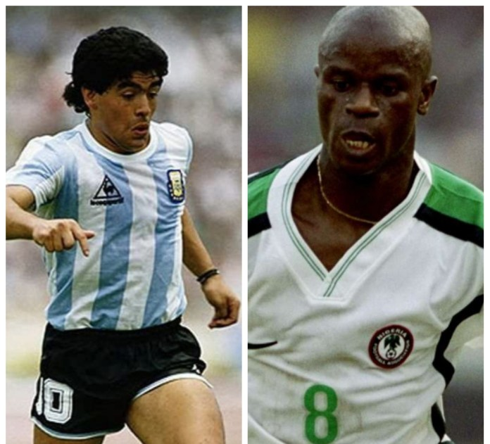 Revealed! Why Argentina Defeated Super Eagles At USA 1994 World Cup-Adepoju
