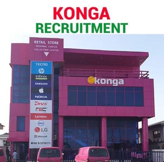 Recruitment: Apply For Konga Job Vacancies