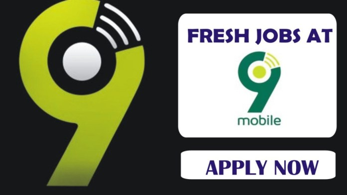 Recruitment: Apply For 9mobile Jobs Vacancies