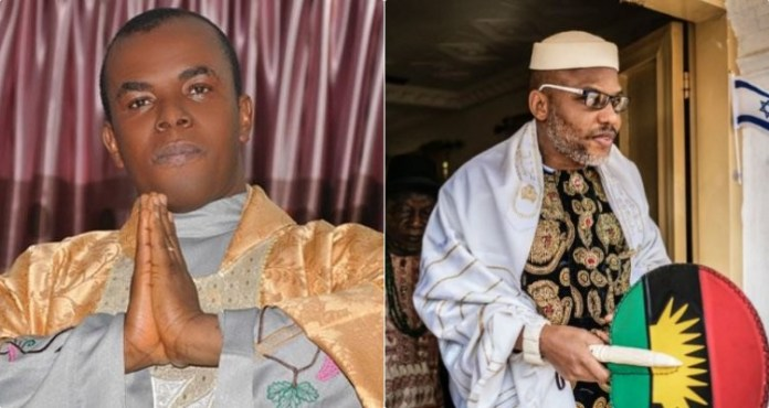 Father Mbaka Finally Reveals His Relationship With Nnamdi Kanu