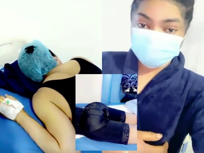 ICYMI: See Video Of Moment Bobrisky Cries Out In Pain As He Under Goes Butt Surgery
