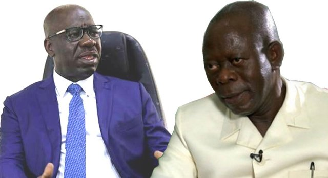 Gov Obaseki Rejects Congratulatory Message From Oshiomhole – See His Response