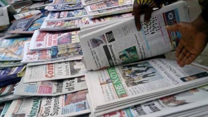 Newspaper Headlines Today September 2, 2021