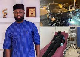 AY's Brother, Yomi Casual Hospitalized After A Ghastly Car Accident