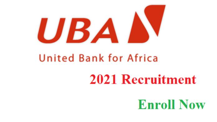 Recruitment: Apply For UBA Jobs Vacancies