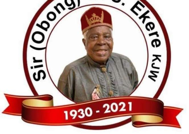 Nsima Ekere Sets To Bury His Father(See Burial Date Here)