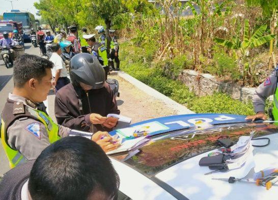 Waduh, Dua Hari 500 Pelanggar Ditilang , Operasi Zebra Candi 2019 Polres Klaten