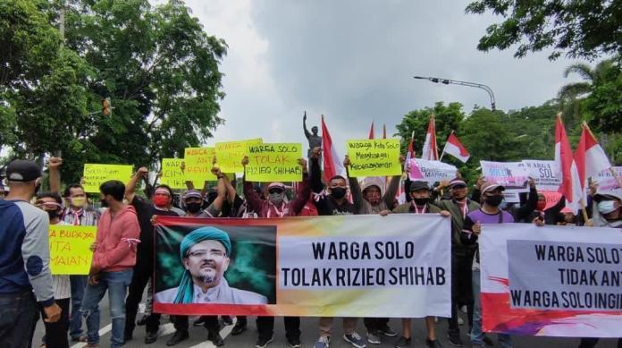 Aliansi Warga Kota Solo Tolak Habib Rizieq di Kota Bengawan