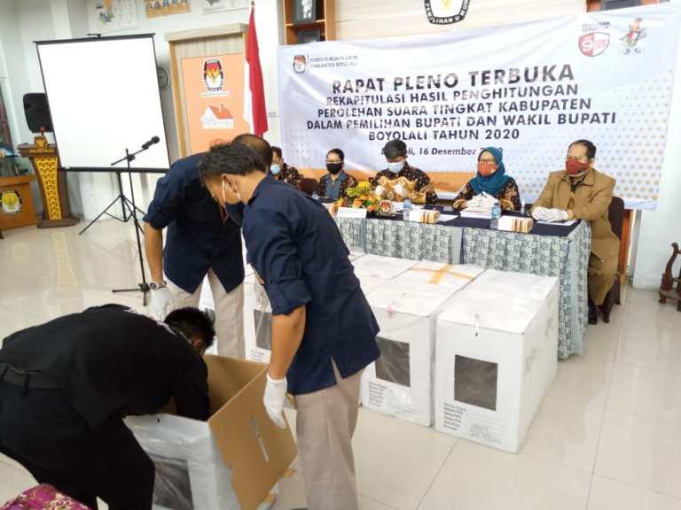 Partisipasi Pemilih Boyolali Lampui Target Nasional