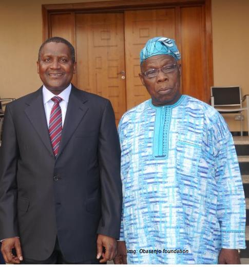 The Cabal: Dangote And Obasanjo