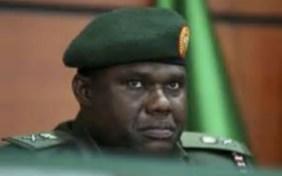 Nigeria's Chief or Army, Kenneth Minimah