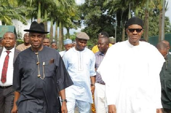 Image result for rotimi amaechi and buhari
