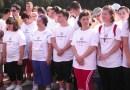 Lanț uman astăzi la Arcul de Triumf de ziua sportivilor Special Olympics
