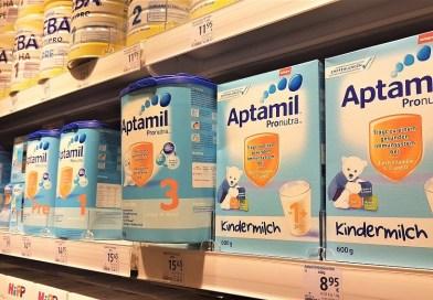 Mafia laptelui praf: Aptamil, cel mai subtilizat produs din Germania