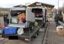 Germania: Șase români, pasageri într-o dubă pentru marfă. Pachete, transportate fără autorizație