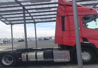 Autocamion căutatde autorităţile din Ungaria, găsit la Nădlac II