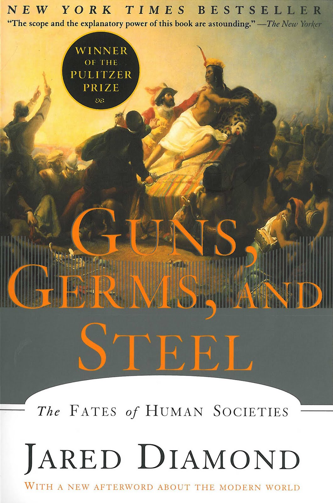 Book Of The Week Guns Germs And Steel