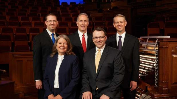 Temple Square Organists