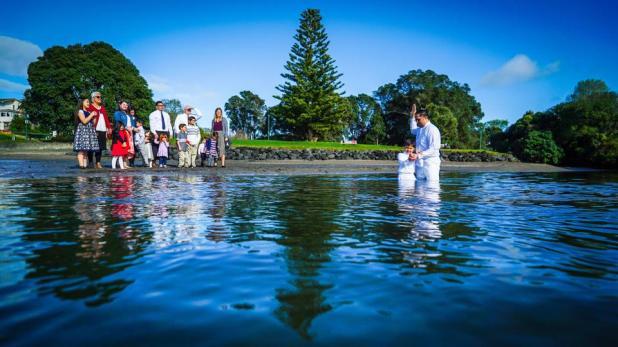 New Zealand baptism