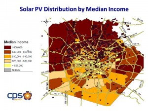Solar systems in San Antonio have largely been installed by higher-income customers, leaving transmission and other costs to be borne by lower-income residents.