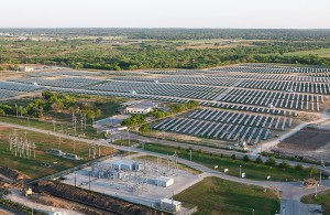 (Image) Centennial solar farm, owned and run by CPS Energy partner SunEdison