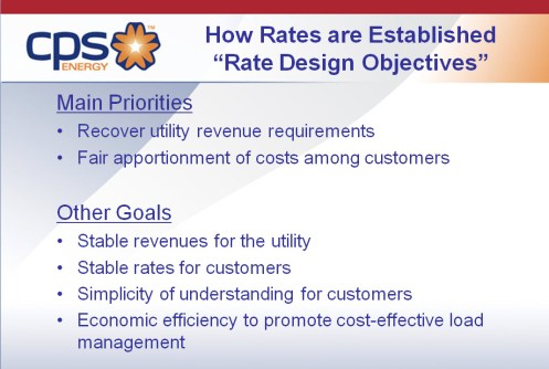 """Establishing """"fair, equitable and reasonable"""" rates includes these goals."""