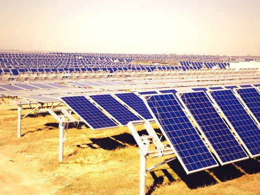 167,000 solar panels, some single and other dual axis, will generate 40 MW of power for CPS Energy.