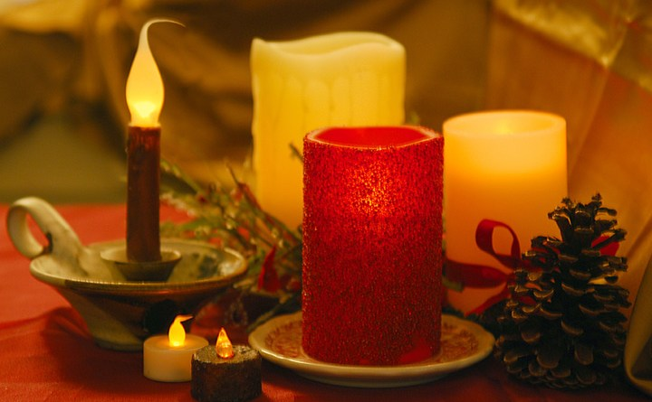 (Image) Several varieties of flameless candle are available.