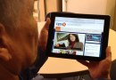 (Image) CPS Energy newsroom on tablet