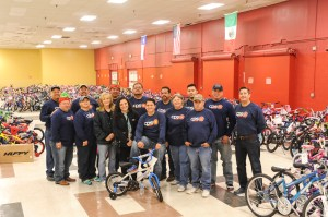 The CPS Energy employees who volunteered their time to help the Angel Tree program by delivering, sorting and distributing gifts.