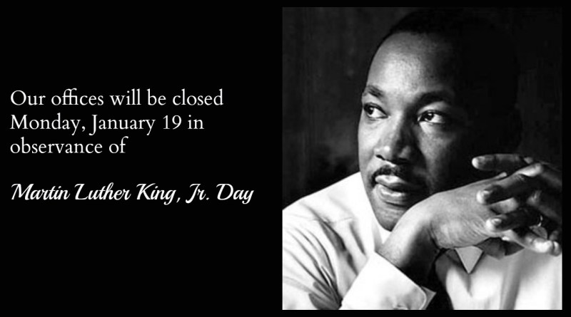 CPS Energy offices closed Jan. 19 for MLK Jr. Day