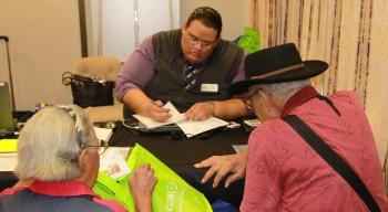 (Image) Seniors at CV event