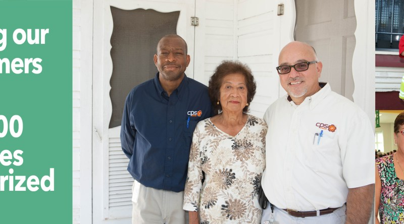 (Image) CPS Energy's weatherization assistance program reaches milestone of 10,000 homes