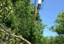 (Image) Power restoration on pole