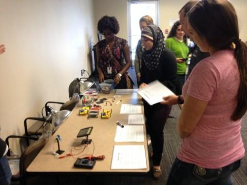 Teachers and Solar Car