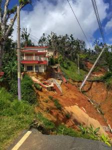 Destruction in Puerto Rico