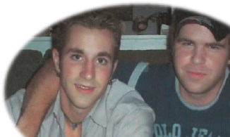 (Image) Jeremy Stephens (at right) with his younger brother, Tory.