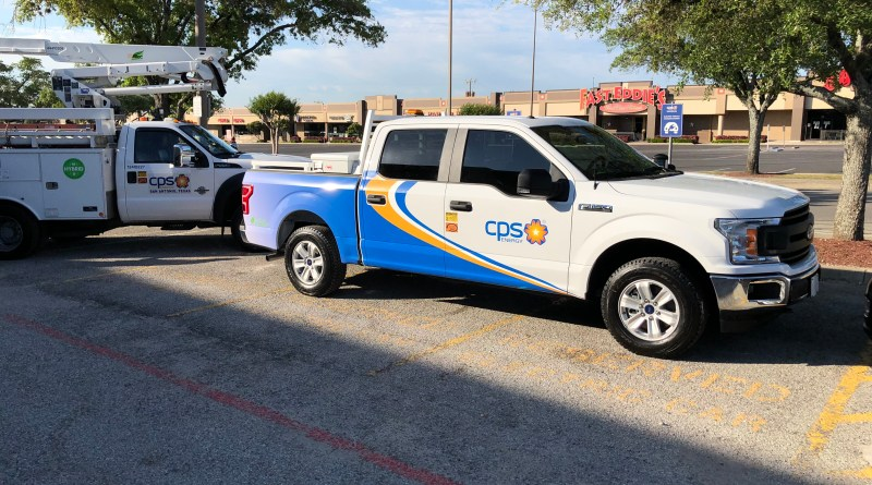 (Image) CPS Energy truck