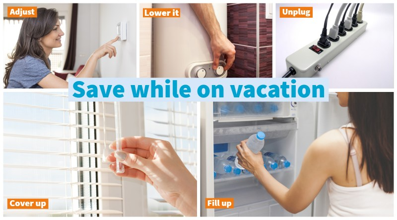 (Image) Save while on vacation