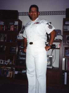 (Image) John Martinez in Navy uniform